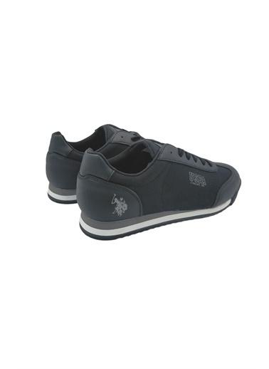 U.S. Polo Assn. Erkek Ayakkabı Deep Summer 100909991 Siyah